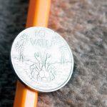 10 vatu монета