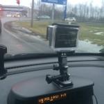 GoPro в машине