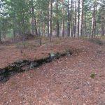Странный фундамент на озере Ummis