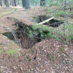 Остатки домика на озере Ummis