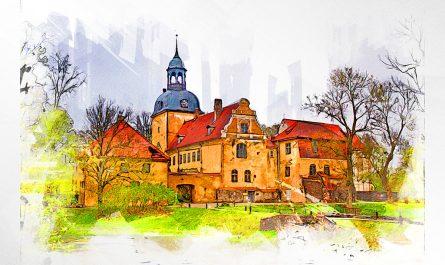 Замок в Лиелстраупе