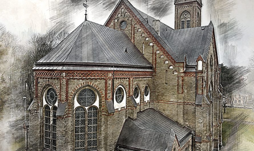 Церковь Лютера в Торнякалнсе