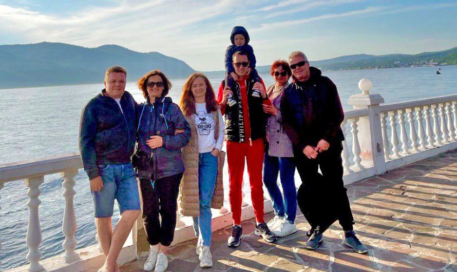 Семейная поездка на Байкал
