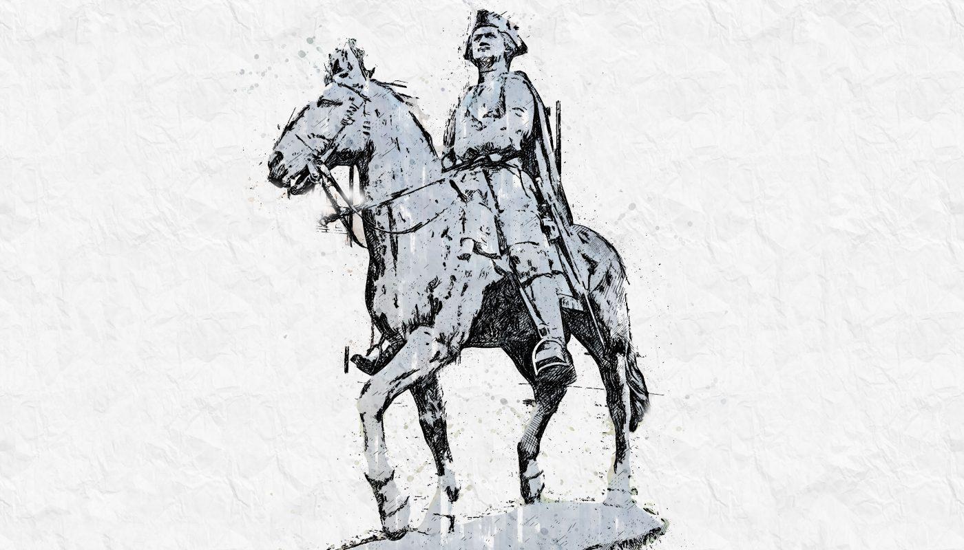 Памятник Петру в Юрмале